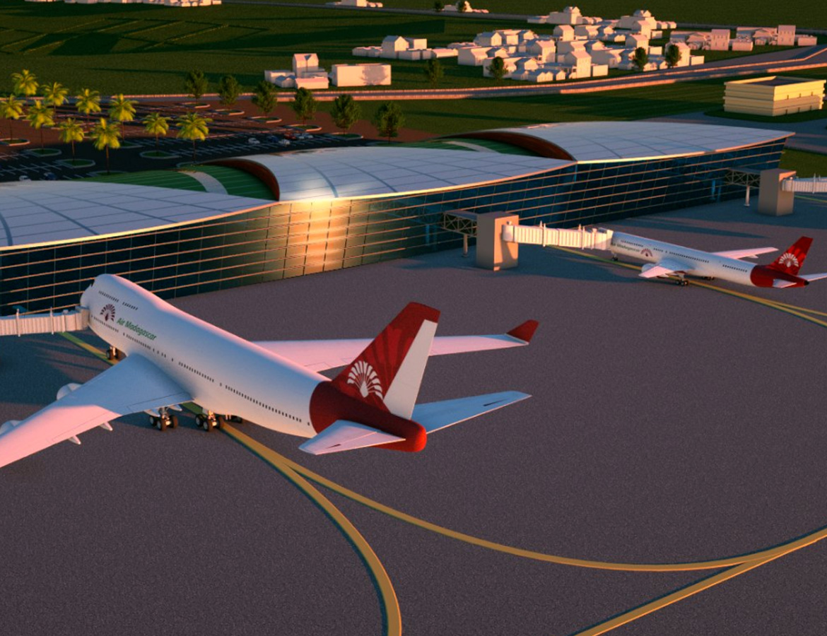 International airport of Ivato – Madagascar