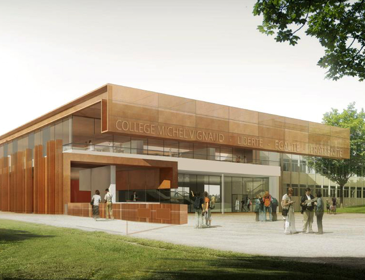 Extension and restructuring of Michel Vignaud middle school – Limours