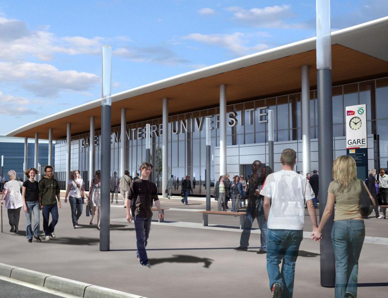 Gare de Nanterre université – Nanterre