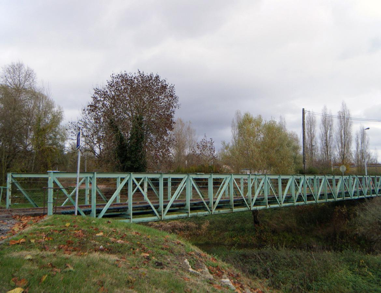 Pont métallique – Neuvy sur Loire