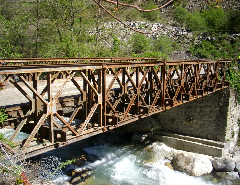 Pont Type BAILEY – Roquebillière